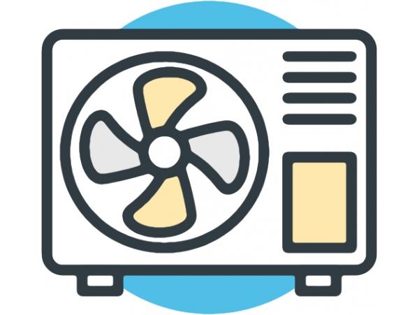 Стандартный монтаж настенного кондиционера 9.0-10.9 кВт