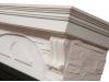 Портал для камина Electrolux серии Torre 30S камень белый шпон белёный дуб