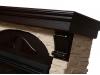 Портал для камина Electrolux серии Torre 30S камень слоновая кость шпон венге