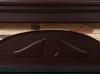 Портал для камина Electrolux серии Torre 30S камень натуральный шпон тёмный дуб