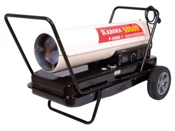 Тепловая пушка прямого нагрева на жидком топливе Kerona P-5000E-T серии Стандарт