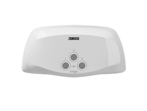 Проточный водонагреватель Zanussi 3-Logic 3,5 TS (Душ+Кран)